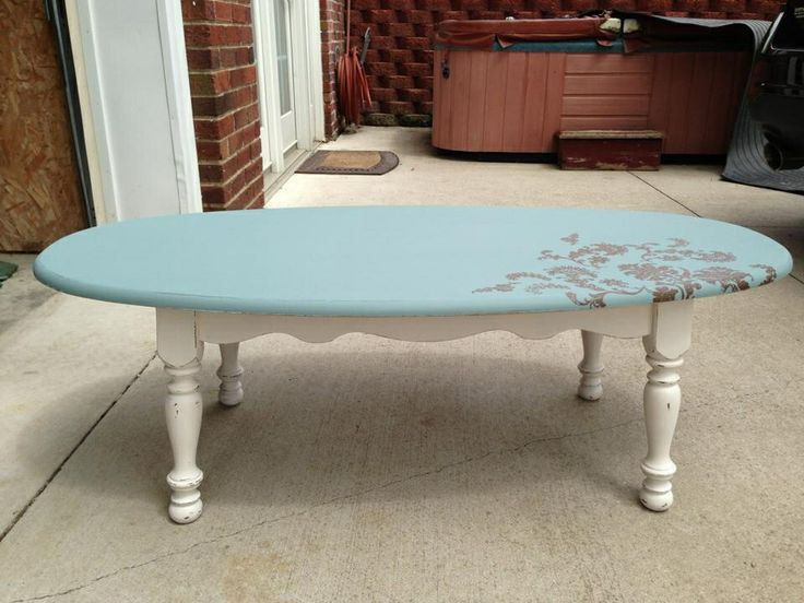 Coffee table redo leslie j 39 s upcycle repurpose and for Redo table top ideas