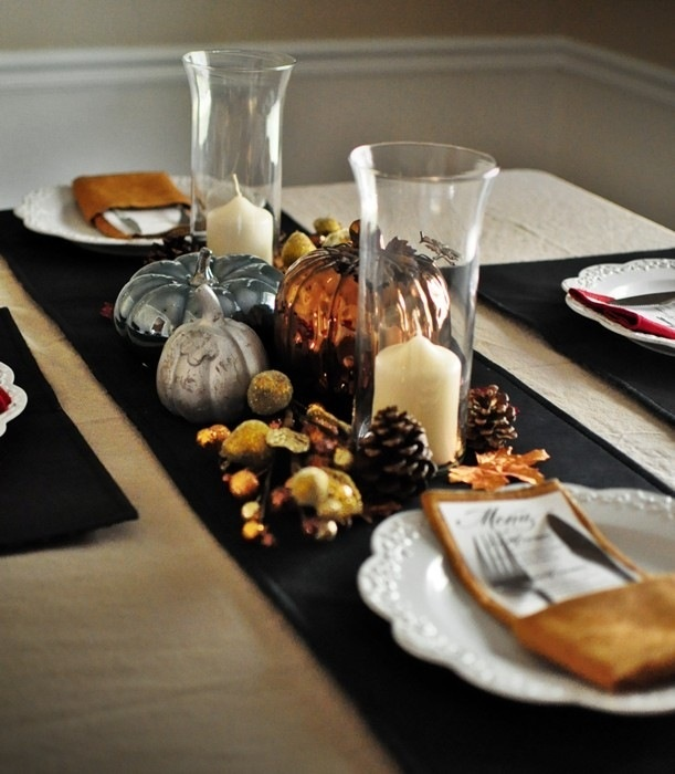 Thanksgiving table decoration - I need a new one for Thanksgiving ...