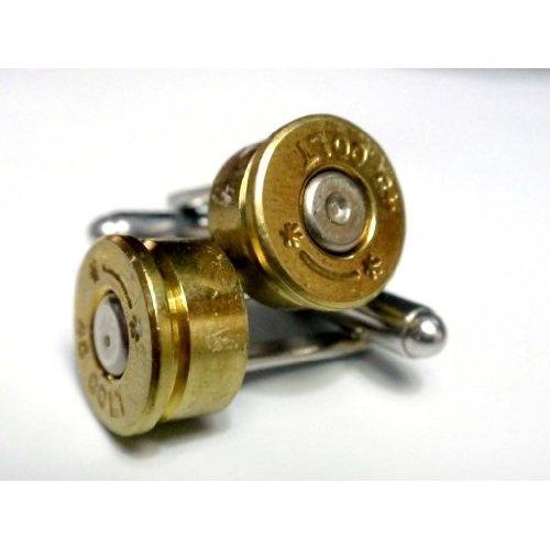 Colt 45 caliber bullet shell cufflinks jewelry pinterest