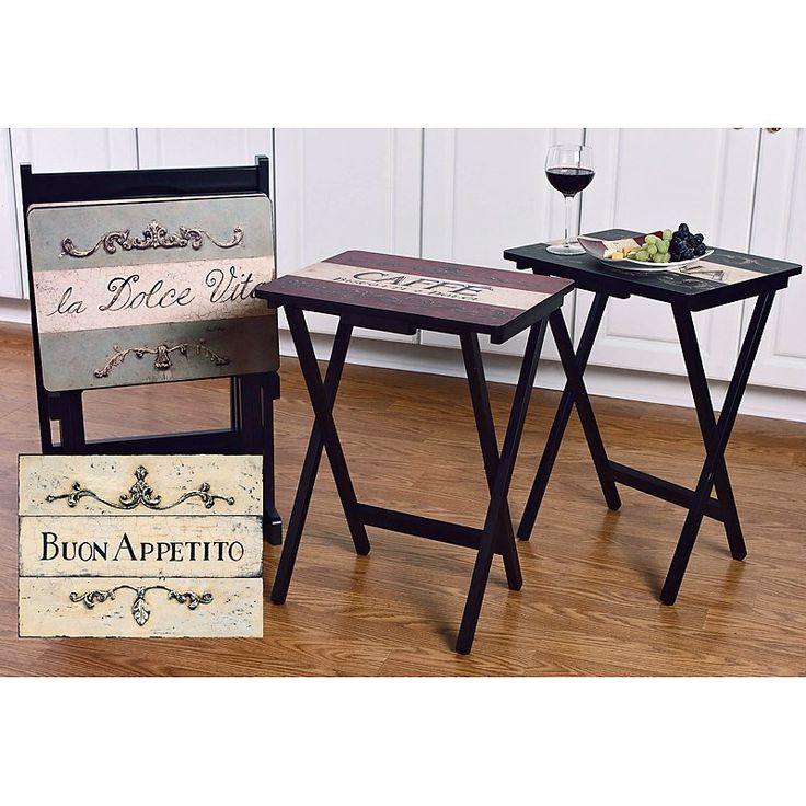 Tv Tray Stand Target  Pin by rachelle on home decor ideas  sc 1 st  orfa.info & Tv Tray Stand Target: Before after tv tray table gets decked out ...