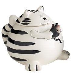 Chubby Cat Teapot