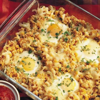 Southwestern Egg Bake Recipe - The basic concept is good but it needs ...