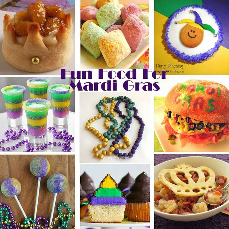 ... Mardi Gras parties and celebrations including gumbo, muffuletta