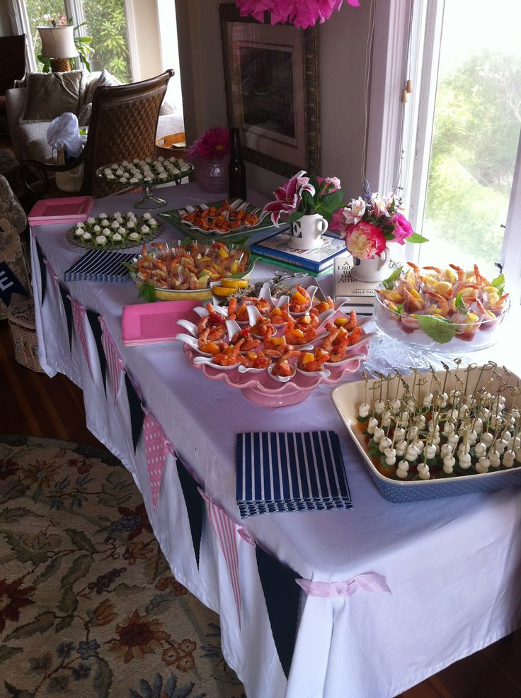 baby shower baby girl food table baby shower gifts pinterest