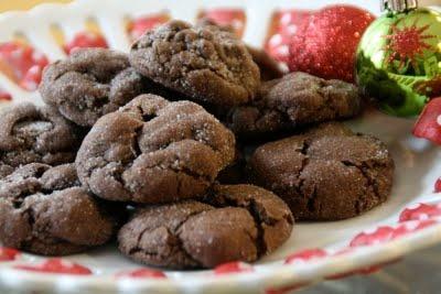 dark chocolate crackles | Desserts | Pinterest