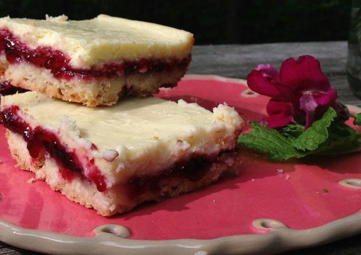 Elderberry-Lemon Shortbread Bars   Meal planning- Extra special   Pin ...