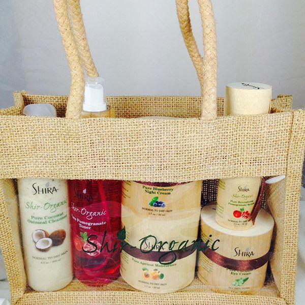 Shir-Organic Travel Set for Dry Skin | Organic Spa Magazine's 2013 Gift Guide: Eco-Beauty | #OrganicSpaMagazine