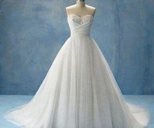 White wedding gown via weheartit