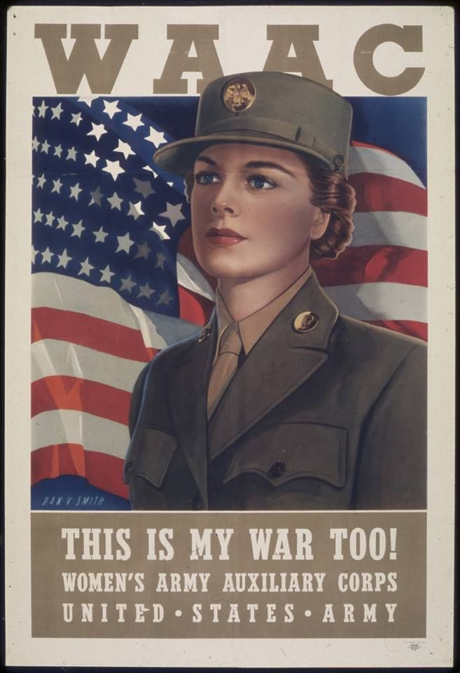 Image result for 1942 - The Women's Auxiliary Army Corps (WAAC)