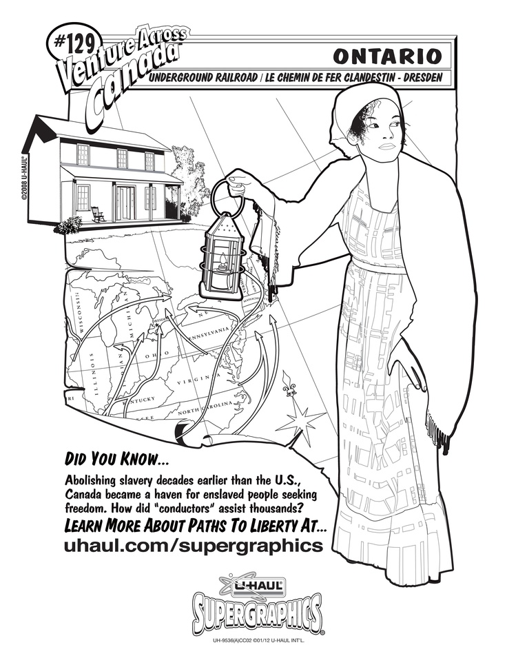 u haul supergraphics coloring contest pages - photo #2