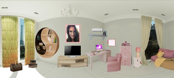 Created My Dream Room In Paris On Create Your Own