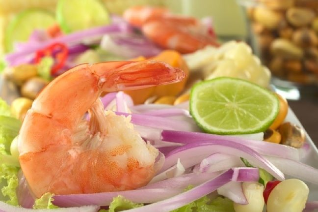 Peruvian Shrimp Ceviche | Snappy Appies | Pinterest