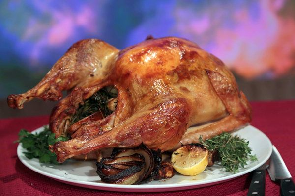 Michael Symon's Chorizo Stuffed Turkey | abc's The Chew | Pinterest Picks - Unique Turkey Recipes for Thanksgiving