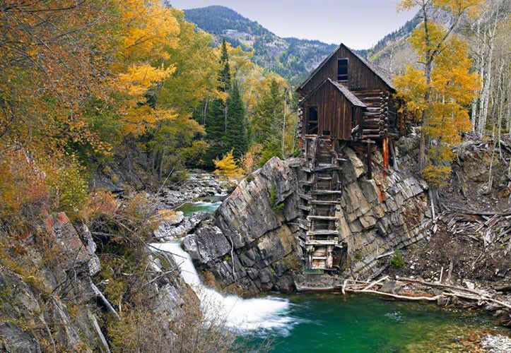Crystal mill crystal colorado homes pinterest for Crystal fall