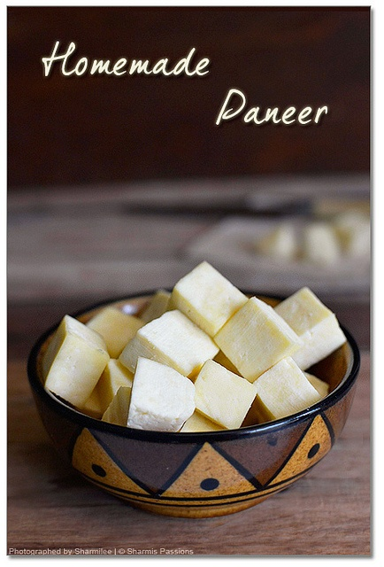 Homemade Paneer-Indian cottage cheese | Culinary (Vegetarian) | Pinte ...