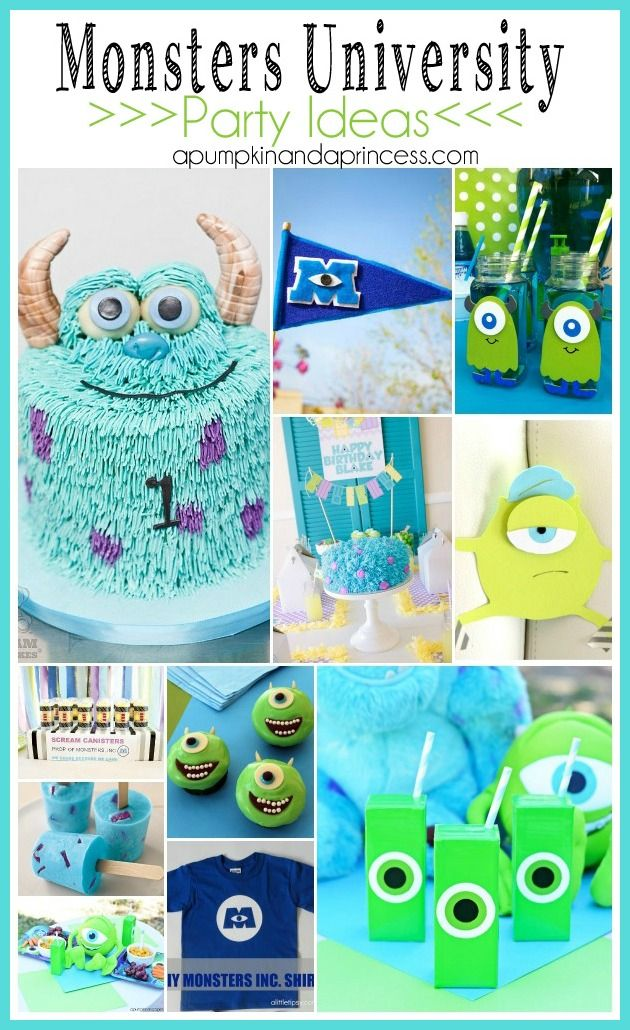 http://apumpkinandaprincess.com/2013/07/10-monsters-university-party-ideas.html