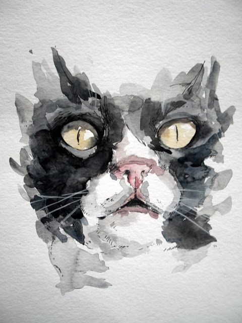 """Chocho"""" Water color"""