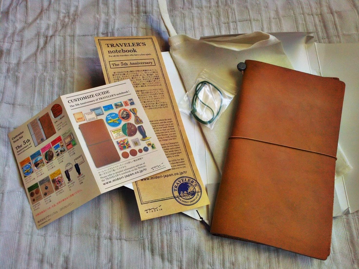 Midori Traveler's Notebook 5th Anniversary Edition