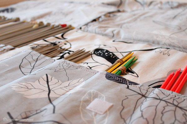 Knitting Pattern Needle Holder : knitting needle holder pattern P r i n c e s s * V a l e n t i n a?