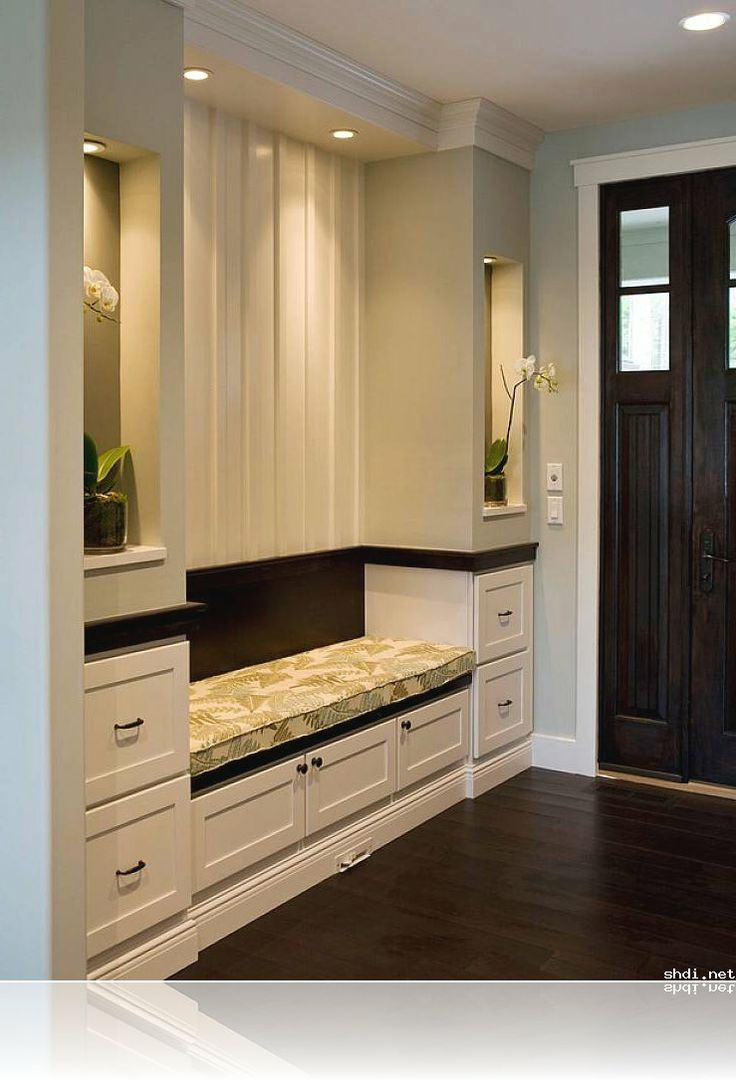 Entryway storage benches to simple home design ideas for Foyer storage ideas