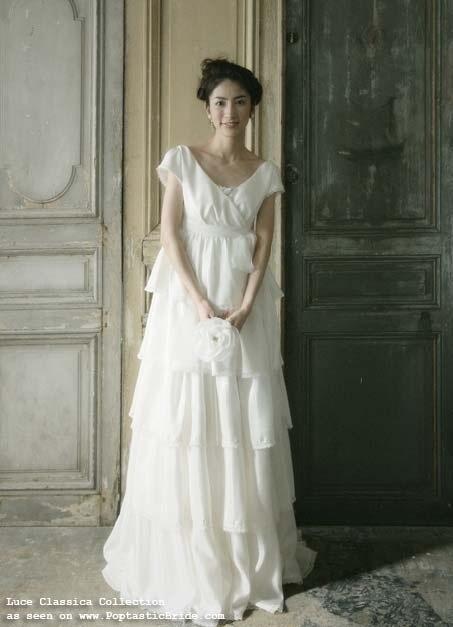 Very simple wedding ideas simple wedding dress very cute for Cute simple wedding dresses
