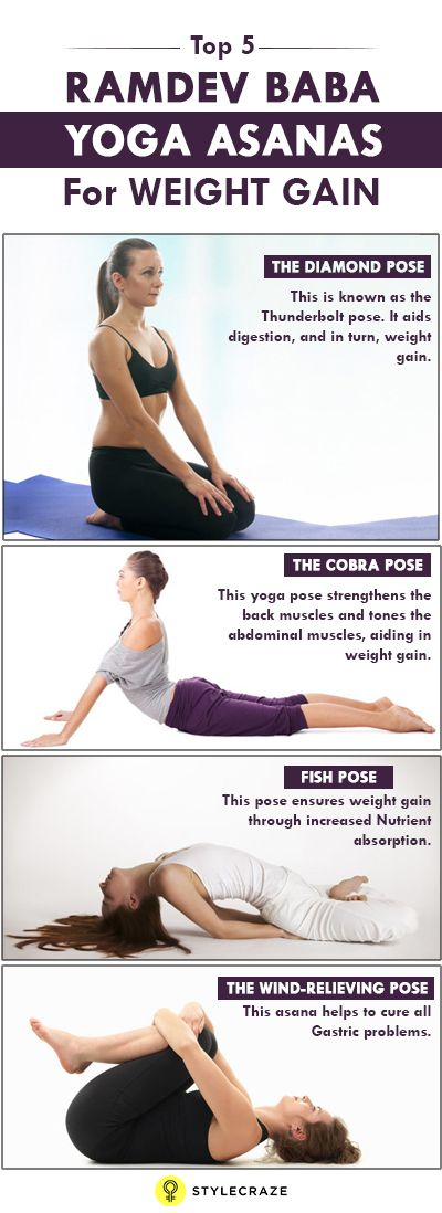 Top 7 Baba Ramdev Asanas For Weight Gain 13 Best Fit Images On Asana Yoga And Moves