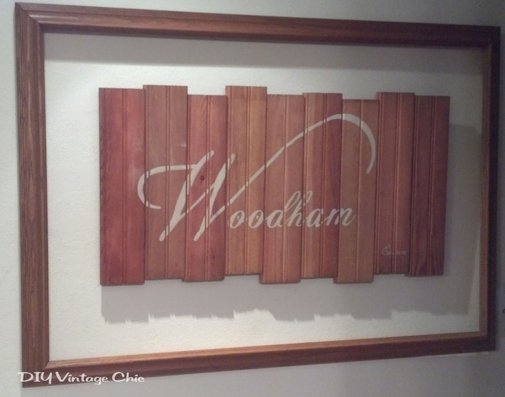 DIY Vintage Chic: Upcycled Floor Boards