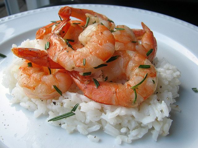 Grilled Rosemary Shrimp by Tracey's Culinary Adventures, via Flickr
