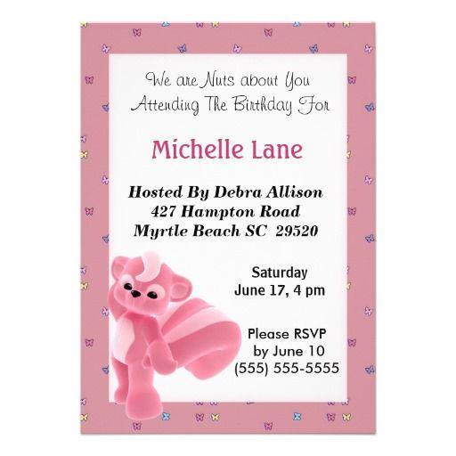 Birthday Invitation Pinterest is best invitations design