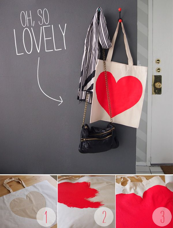 Freezer Paper Stenciling tote bags