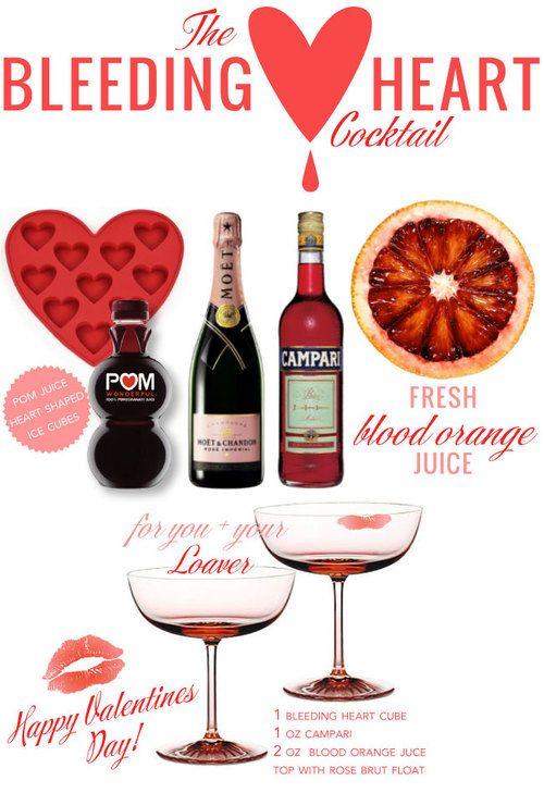 Mrs. Lilien's Bleeding Heart Cocktail | eat + drink | Pinterest