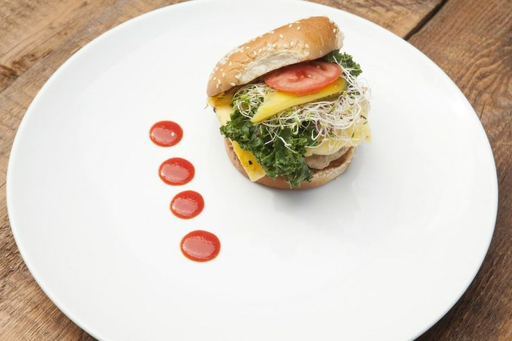 Spicy Tuna Burger With Grilled Pineapple/Cook Your Ass Off