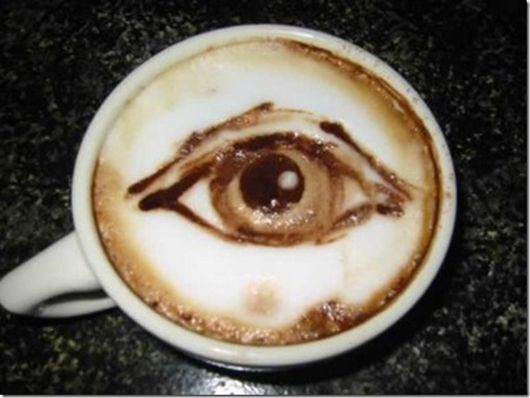 all seeing coffee ;)