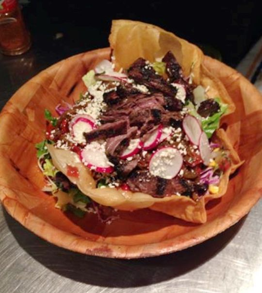 taco salad kalyn s taco salad layered raw taco salad for two steak ...