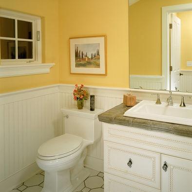 Wainscoting Design In Bathroom Colors Pinterest