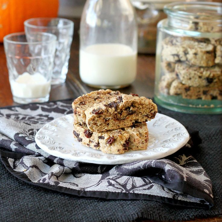 chocolate orange almond biscotti | Christmas Cookies | Pinterest