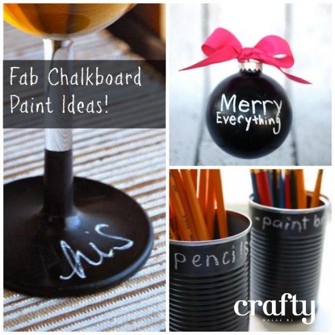 Chalkboard Paint Craft Ideas Mother 39 S Day Pinterest