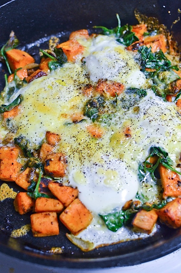Sweet Potato Hash.... definitely a lighter hash. Will be subbing ...