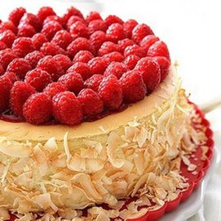 Toasted Coconut And Raspberry Cheesecake | My Cheesecake Obsession ...