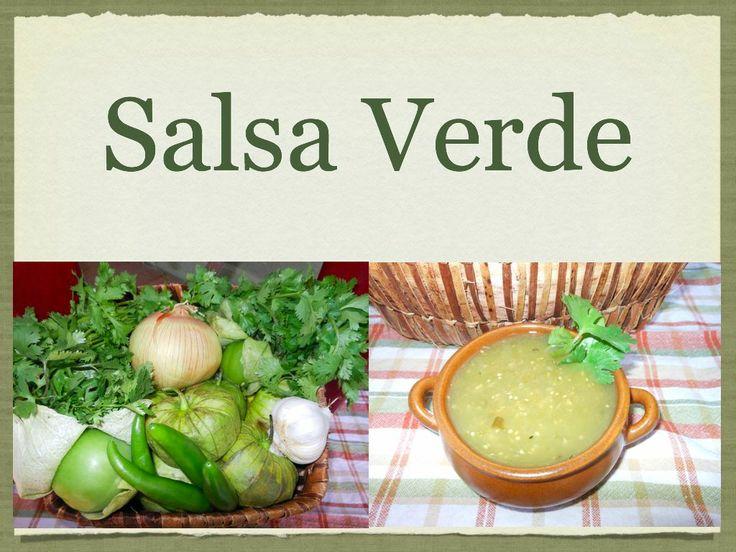 Salsa Verde: Authentic Mexican Recipe, Green Salsa with Tomatillo