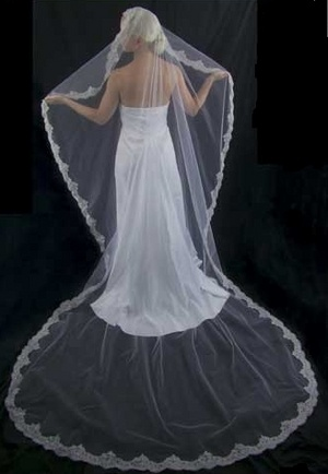 Cathedral Length Mantilla Wedding Veils