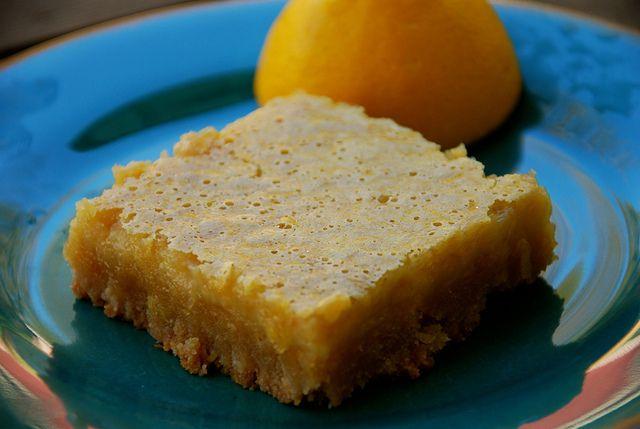 Paleo Lemon Pie Bars | Paleo Cookies & Bars | Pinterest