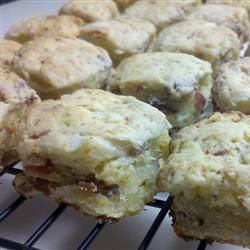 Bacon, Cheddar & Onion Cream Biscuits | Bread | Pinterest