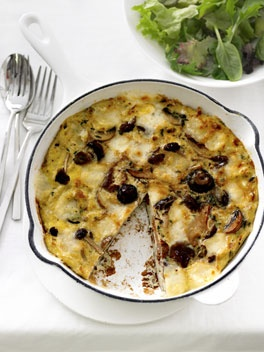 Mushroom and fontina frittata | My Passion ... Cooking | Pinterest