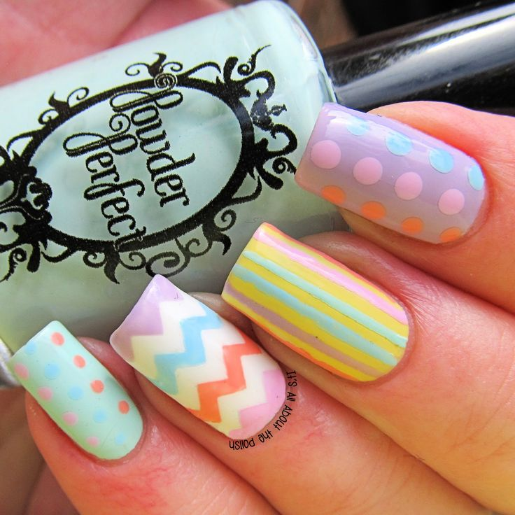 It's all about the polish: Easter #nail #nails #nailart