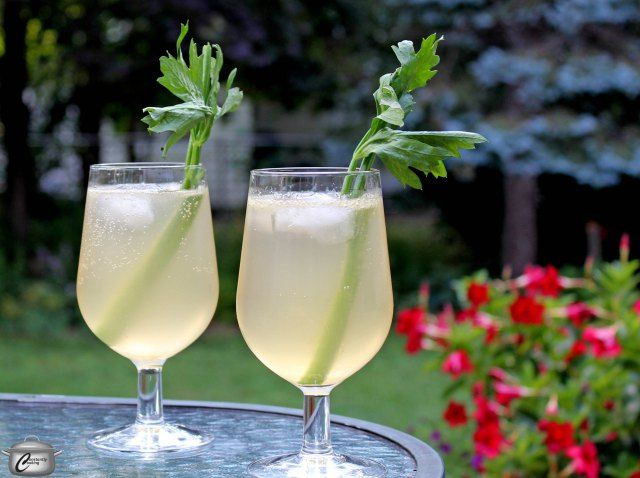 With just a hint of celery flavour, this Celery Gin Fizz cocktail has ...
