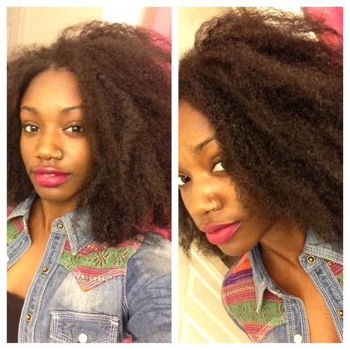 Crochet braids #kinky #marleybraidhair Hair Pinterest