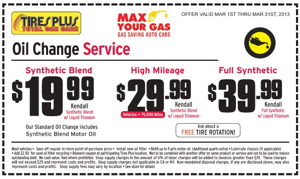 oil change coupons brainerd mn
