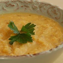 Lebanese-Style Red Lentil Soup Allrecipes.com