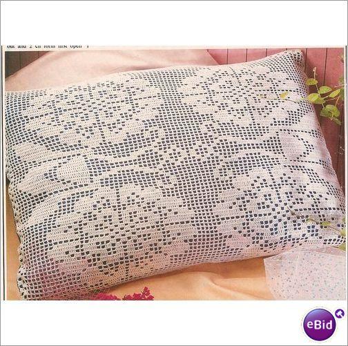Crochet Patterns Nz : Crochet Pillow Pattern Kind Hearts on eBid New Zealand